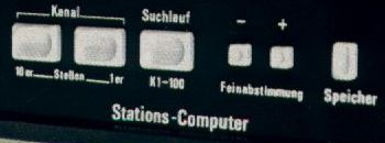 Synthèse de fréquence (station computer) TV GRUNDIG
